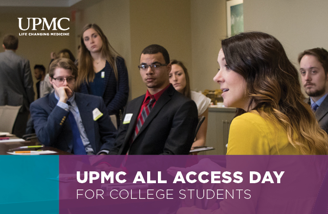 UPMC All Access Days for College Students