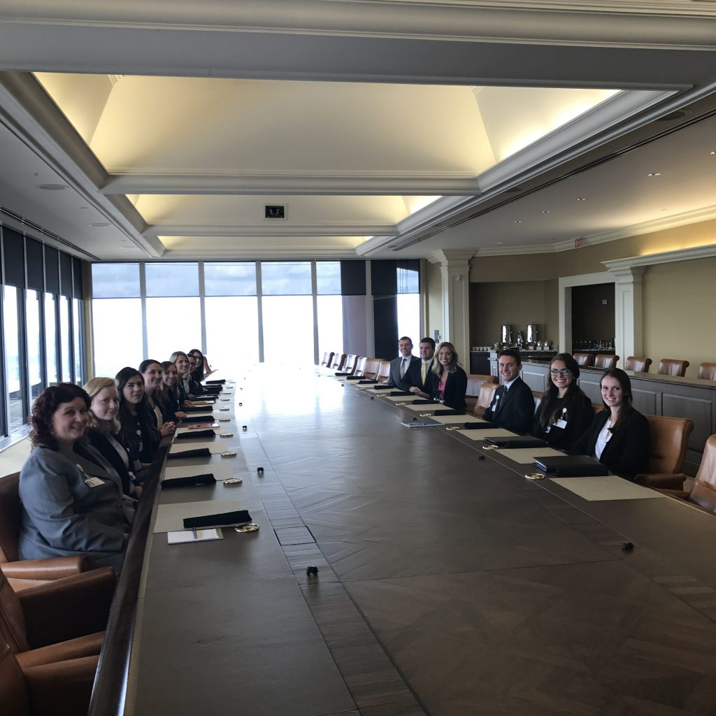 All the HR Summer Associates had the opportunity this week to have lunch with our Chief Human Resources Officer, John Galley! I know we all enjoyed hearing about his career path and the different advice he had to give, as well as getting to eat lunch on the 62nd floor.