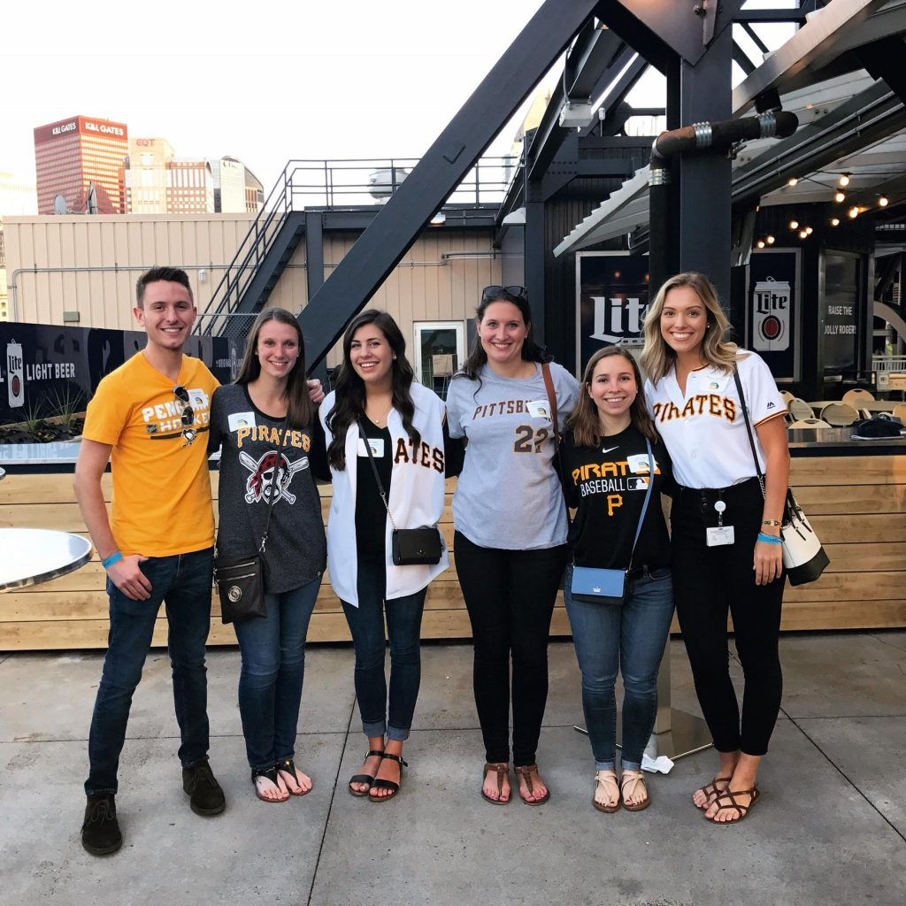 One of my favorite Summer Associate events was the Pirate's game. All of the Summer Associates across UPMC, their managers, and several executives attended the game and got to network with each other!