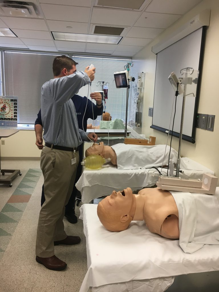 This week I had the privilege of touring the Wiser Institute. We even got to try some of the simulations ourselves!