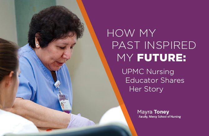 UPMC Nurse Educator Mayra Toney