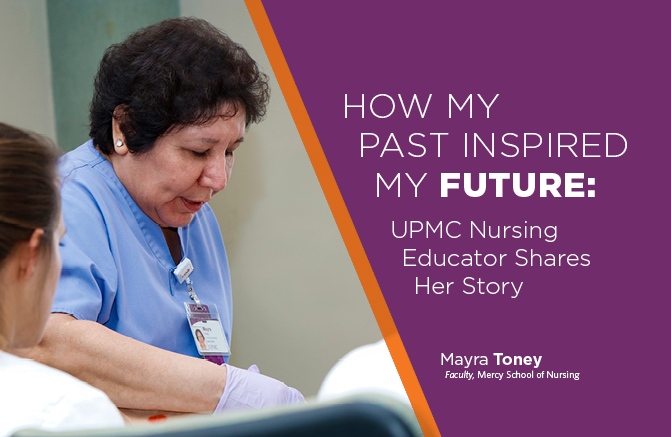 UPMC Nurse Educator Mayra Toney