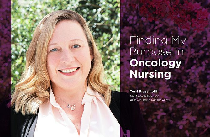 Finding My Purpose in Oncology Nursing