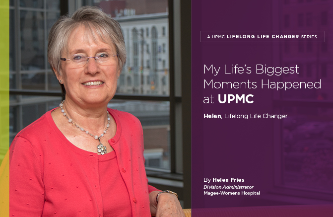 My Life's Biggest Moments Happened at UPMC: UPMC Lifelong Life Changer