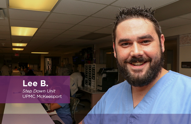 Lee B., Step Down Unit, UPMC McKeesport