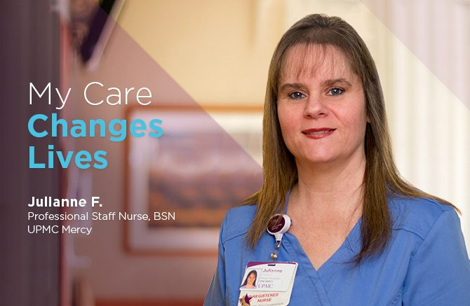 Julianne Feskom, Professional Staff Nurse, BSN, UPMC Mercy