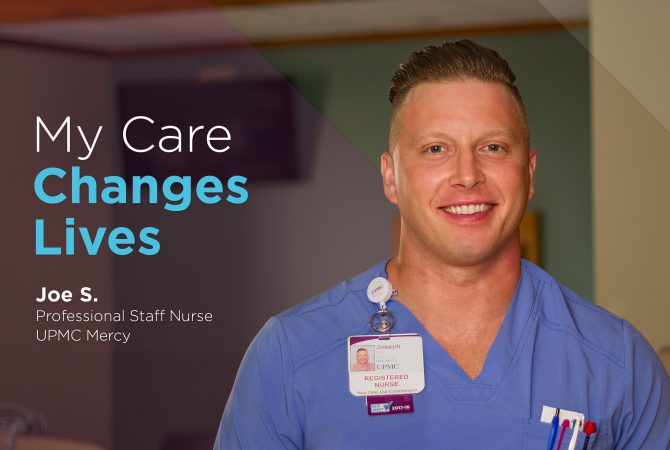 Joe Serafin, Professional Staff Nurse, UPMC Mercy