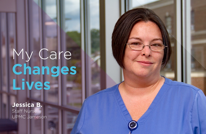 Jessica Beighley, Staff Nurse, UPMC Jameson