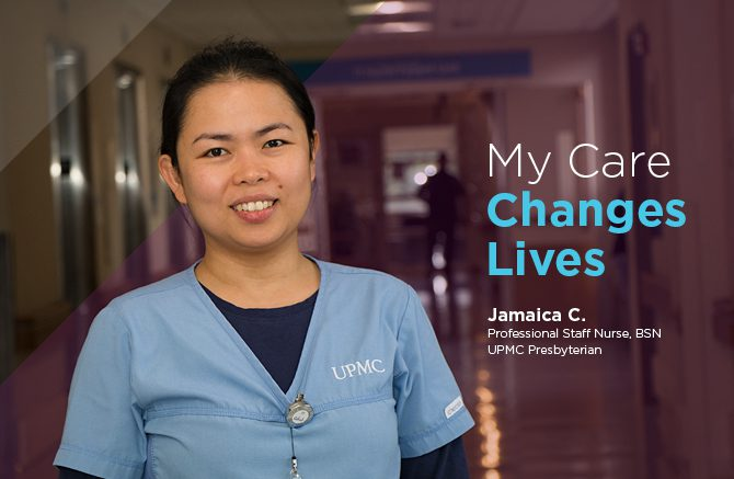 Jamaica Crosby, Professional Staff Nurse, BSN, UPMC Presbyterian
