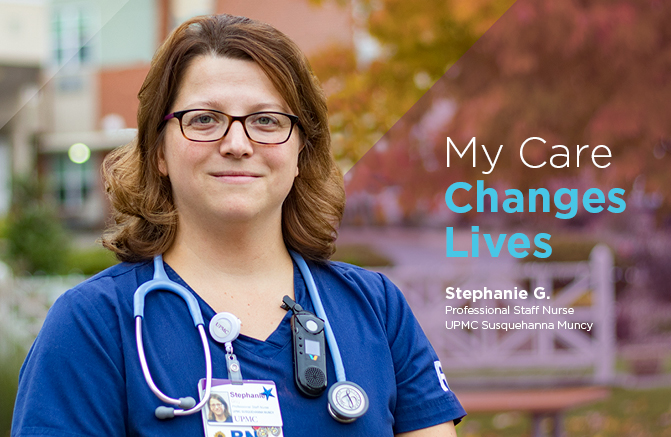 Stephanie Gray, Professional Staff Nurse, UPMC Susquehanna Muncy