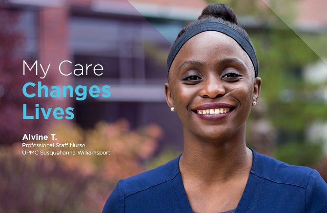 Alvine Taylor, Professional Staff Nurse, UPMC Susquehanna Williamsport