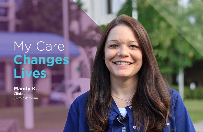 Mandy Kosmann, Clinician at UPMC Altoona