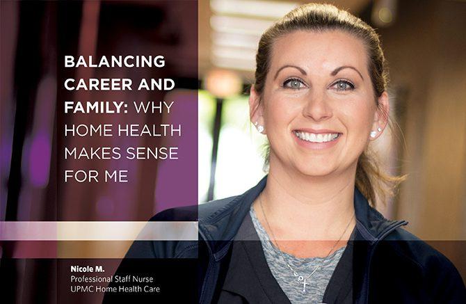 Header image of Nicole M., Professional Staff Nurse, UPMC Home Health Care