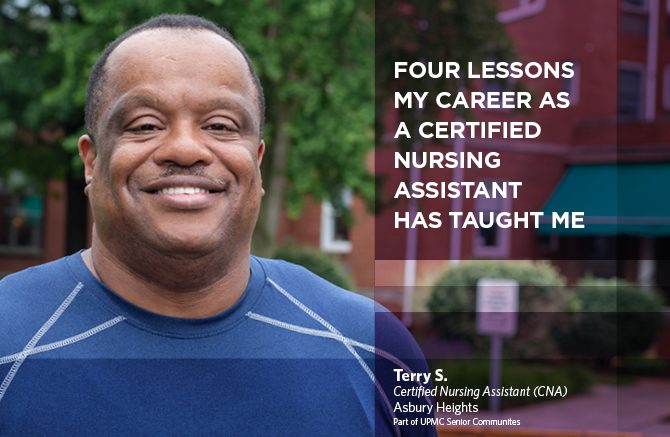 Header image of Terry S., Certified Nursing Assistant at Asbury Heights