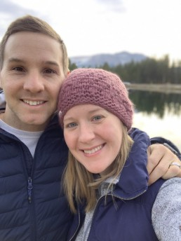 Jami and her husband in Colorado