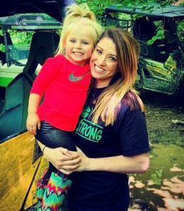 Cara enjoys camping and riding four wheelers with her husband and daughter.
